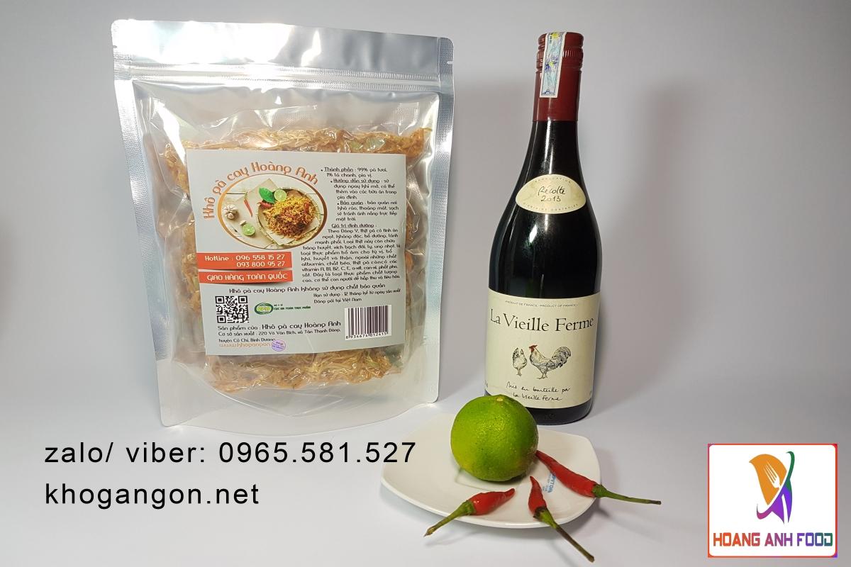 Giá khô gà xé tại Hà Nội?